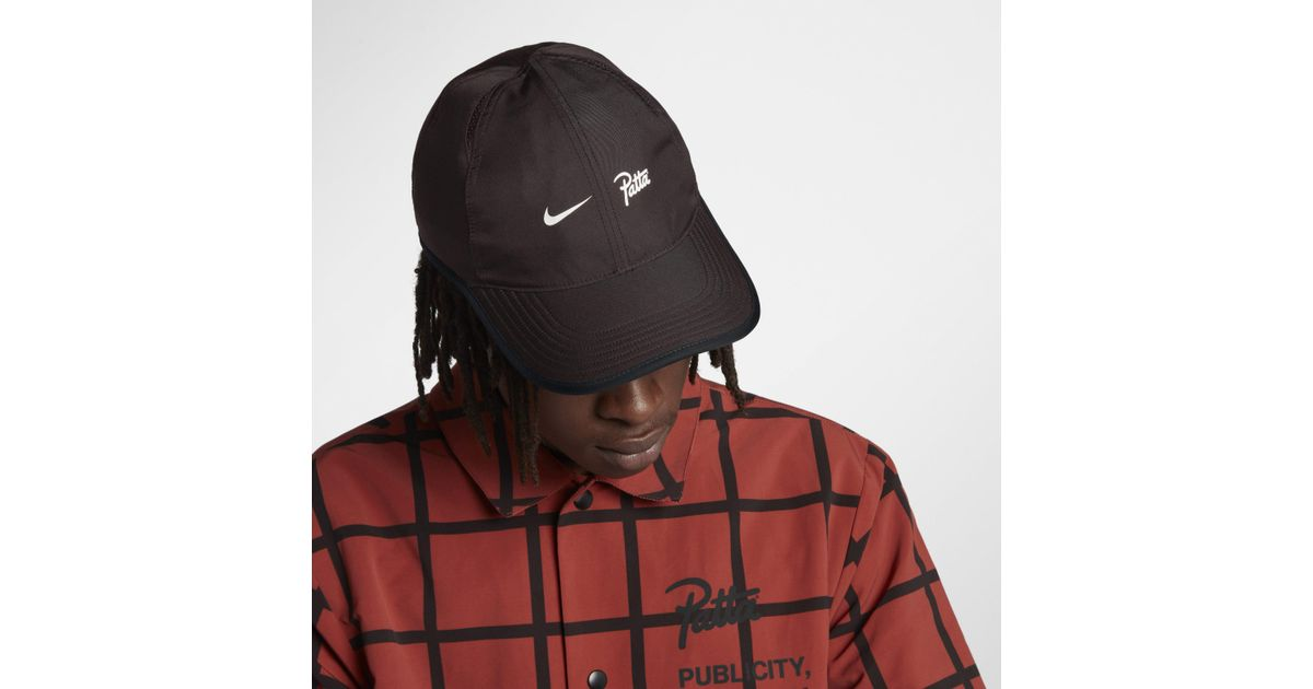 Nike X Patta Aerobill Featherlight Cap in Brown - Lyst 25b8cbb7b55