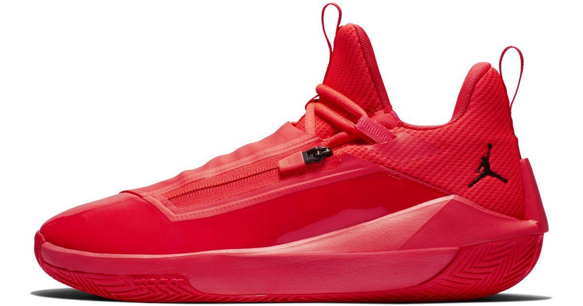 ebd8a34ac1f Nike Jordan Jumpman Hustle Basketball Shoe in Red for Men - Lyst