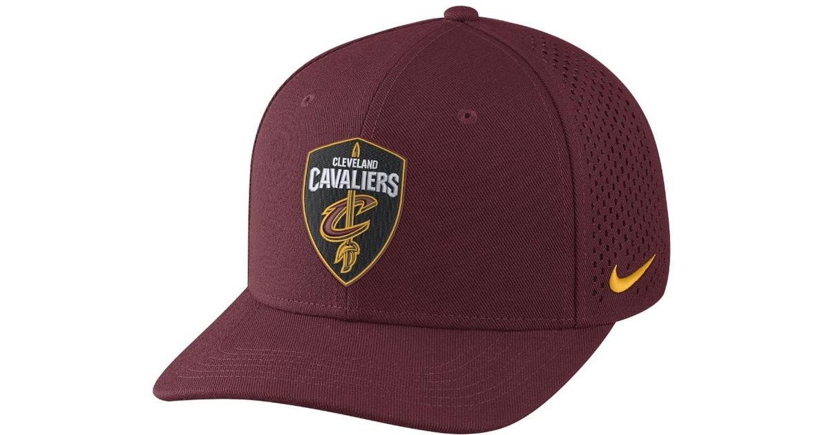 Lyst - Nike Cleveland Cavaliers Aerobill Classic99 Adjustable Nba Hat (red)  in Red for Men 3e9d987b63b6