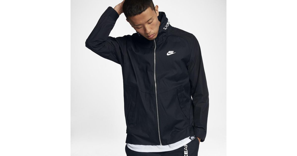 ece470a5a9 Lyst - Nike Sportswear Air Max Men s Jacket in Black for Men