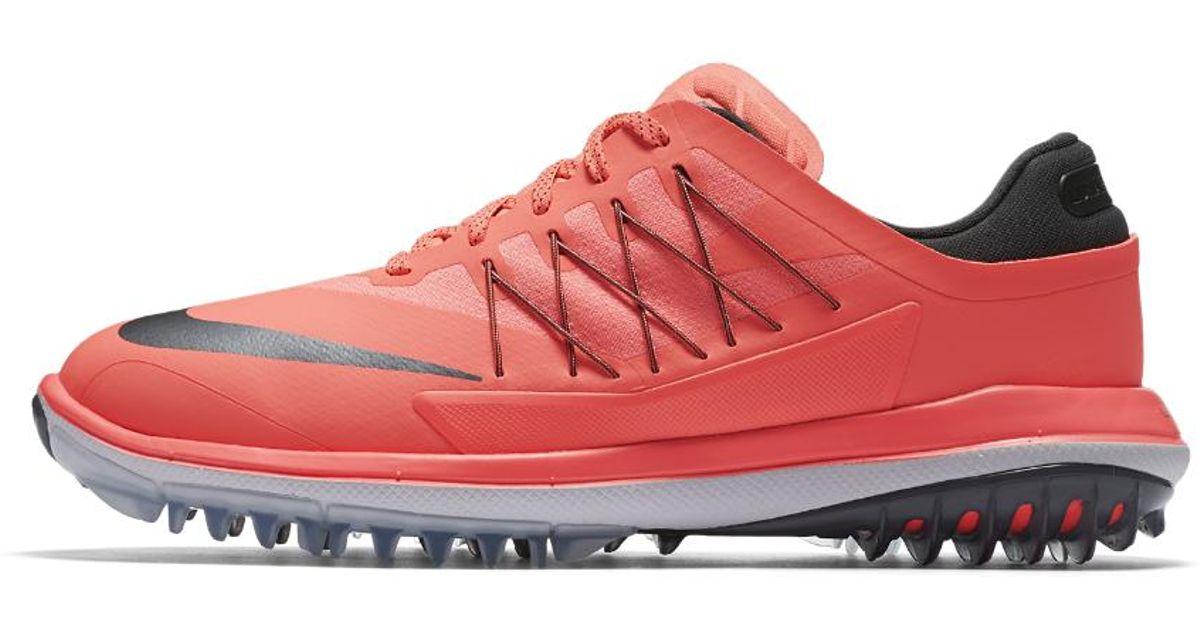 newest 3f874 3f696 Nike Lunar Control Vapor Women s Golf Shoe in Red - Lyst