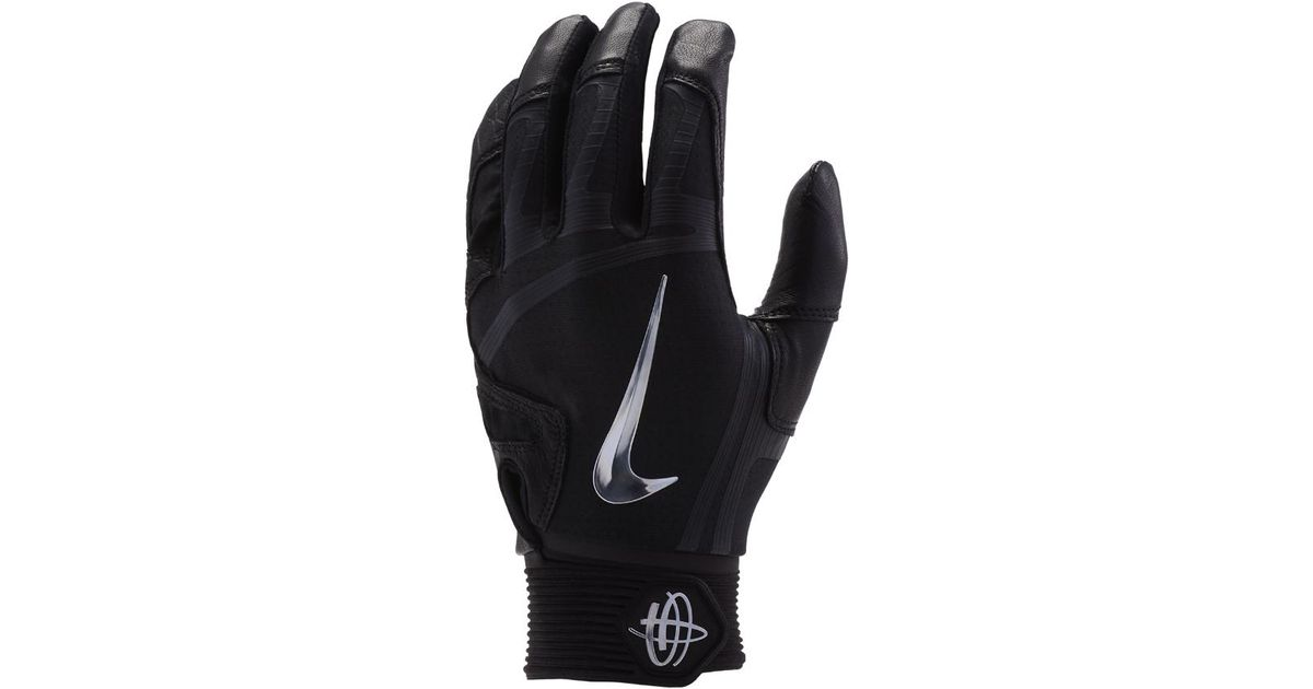 f8c738e304a8 Lyst - Nike Huarache Elite Baseball Batting Gloves in Black for Men