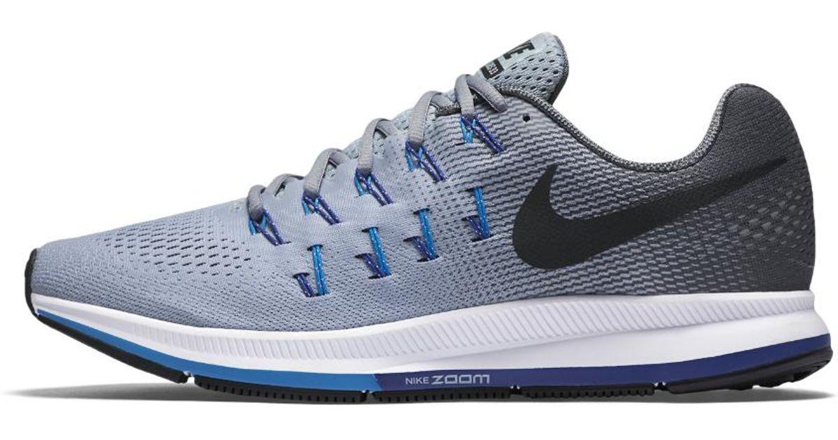 e32bd3040e2e Lyst - Nike Air Zoom Pegasus 33 Men s Running Shoe in Gray for Men