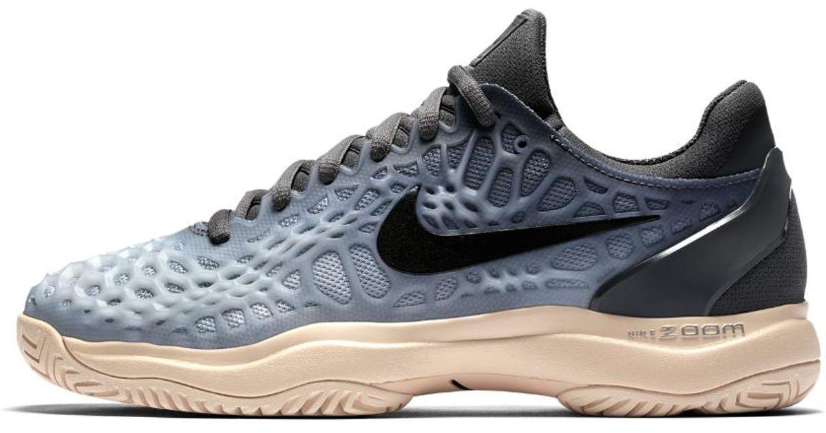 6a0408bd8016 Lyst - Nike Zoom Cage 3 Women s Tennis Shoe in Blue