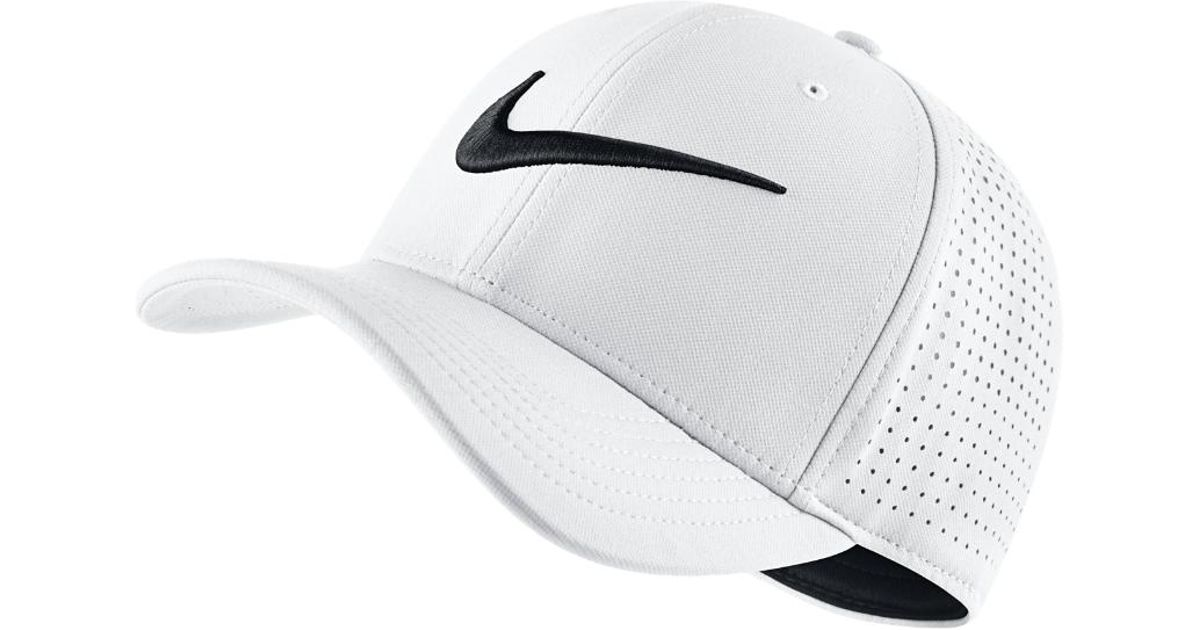 Lyst - Nike Vapor Classic 99 Sf Fitted Hat in White for Men - Save 32% cafc2f98e31