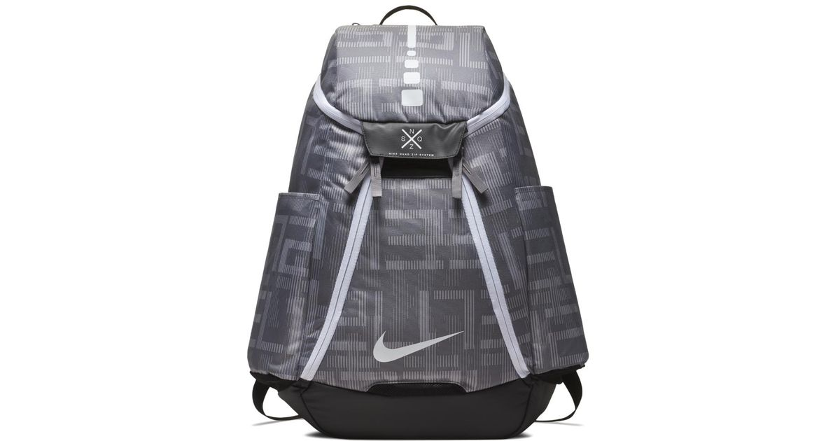9ecf9bcabf20dc Lyst - Nike Hoops Elite Max Air Team 2.0 Graphic Basketball Backpack (grey)  in Gray for Men