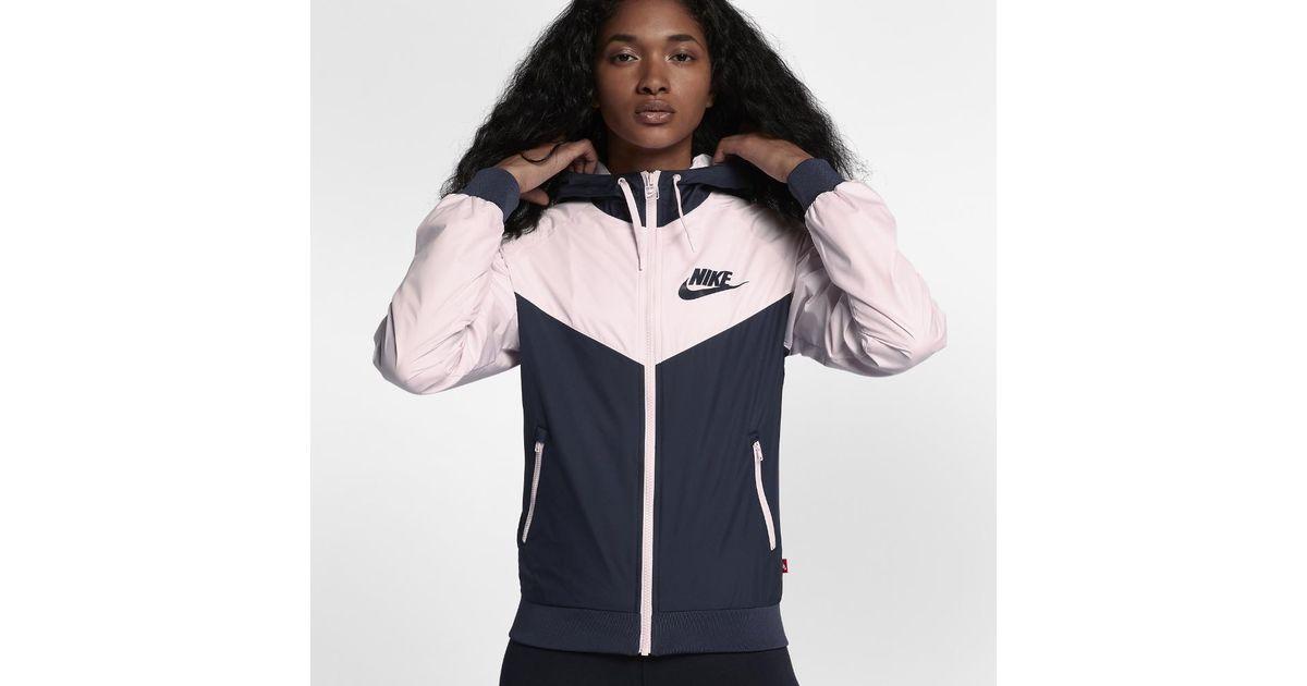 4c1c6dfd0 Nike Sportswear Windrunner Women's Jacket - Lyst