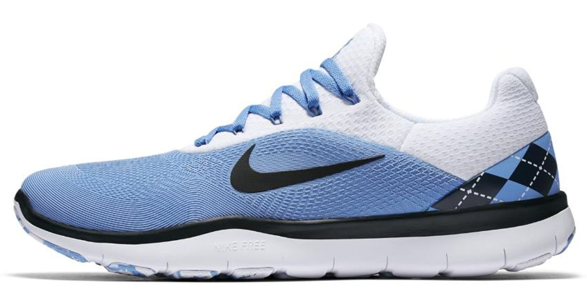 huge discount afd8b 4e7a0 Nike Free Trainer V7 Week Zero (unc) Men s Training Shoe in Blue for Men -  Lyst