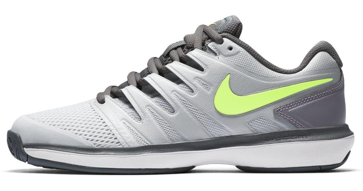 bde657c19e70b Nike Court Air Zoom Prestige Hard Court Tennis Shoe in Gray for Men - Lyst