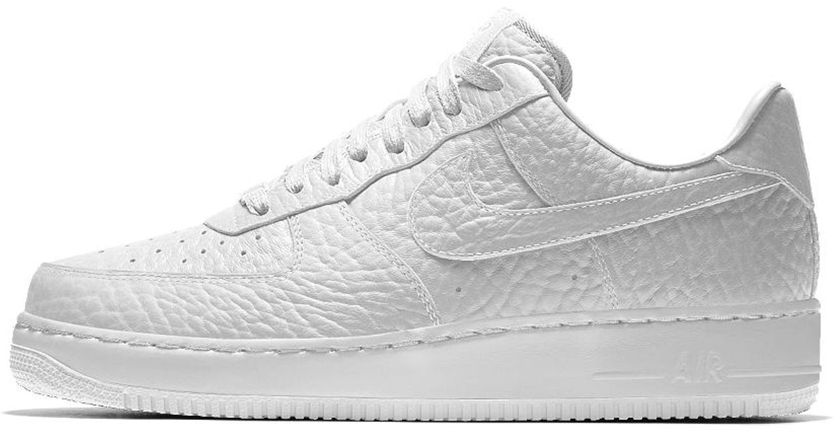 pretty nice 3f90c b1082 Nike Air Force 1 Low Premium Id (golden State Warriors) Men s Shoe in White  for Men - Lyst