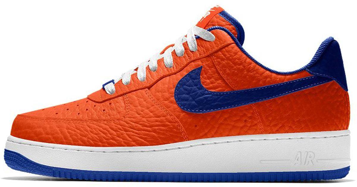 d8b76d39d549 Lyst - Nike Air Force 1 Low Premium Id (new York Knicks) Men s Shoe for Men