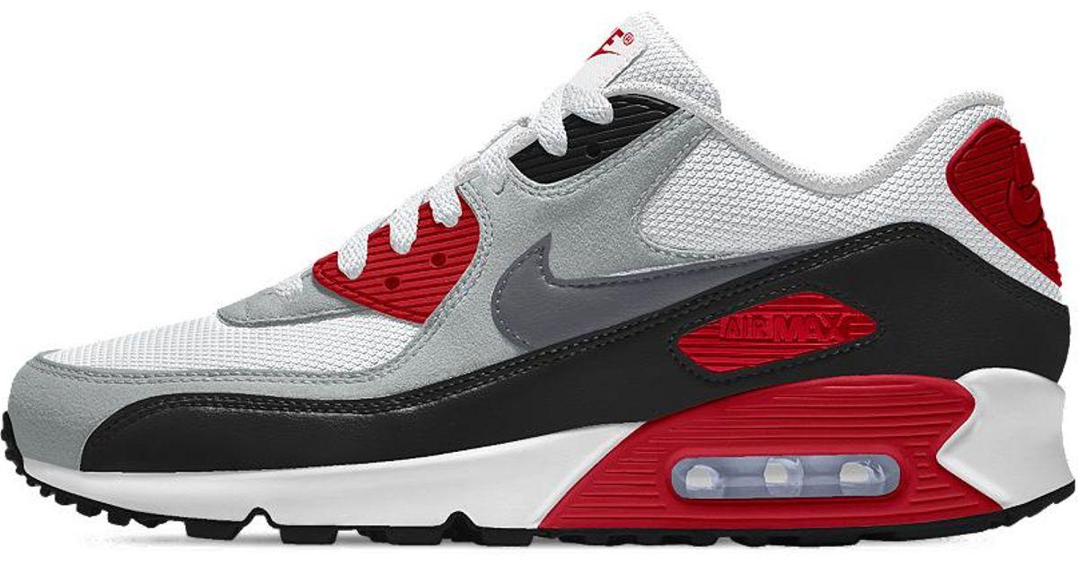 promo code ac4c2 07e11 Lyst - Nike Air Max 90 Essential Id Women s Shoe in Black