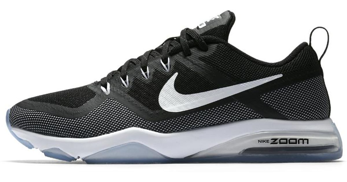 d2c1651ea114c Nike - Black Zoom Fitness Women's Training Shoe - Lyst