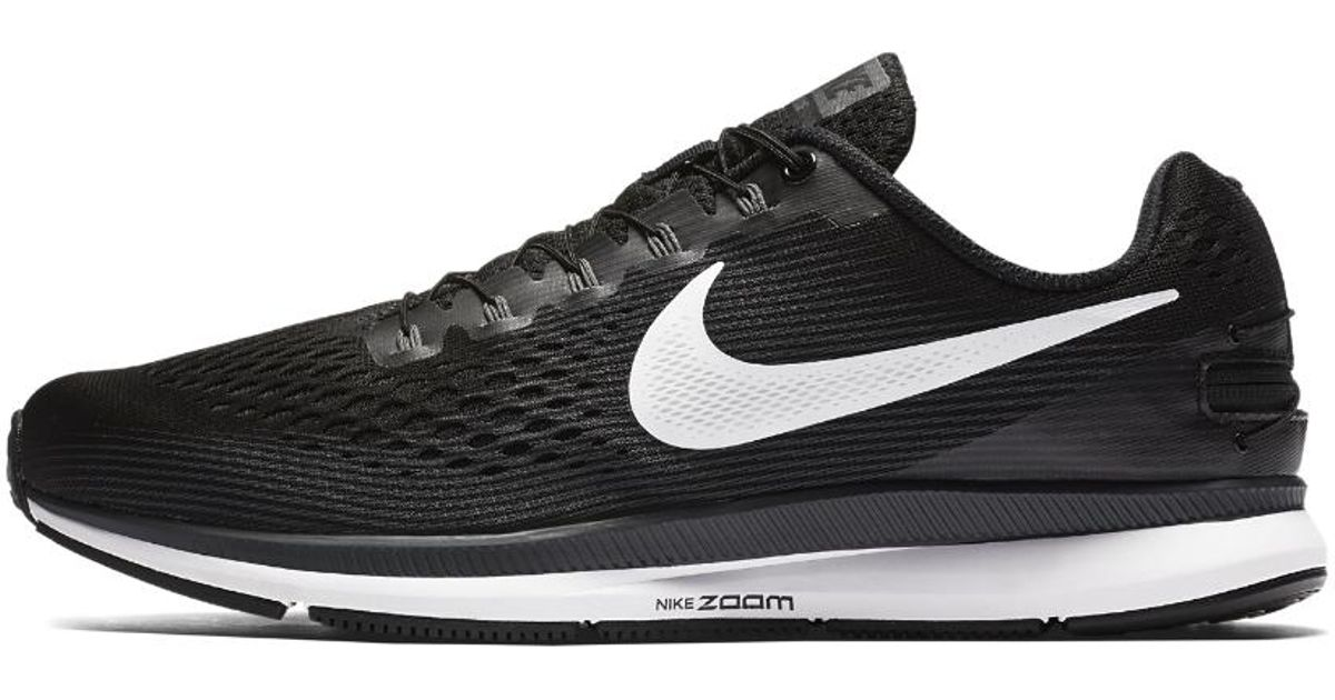 518f7924d7a64 Lyst - Nike Air Zoom Pegasus 34 Flyease Men s Running Shoe (extra-wide) in  Black for Men - Save 2%