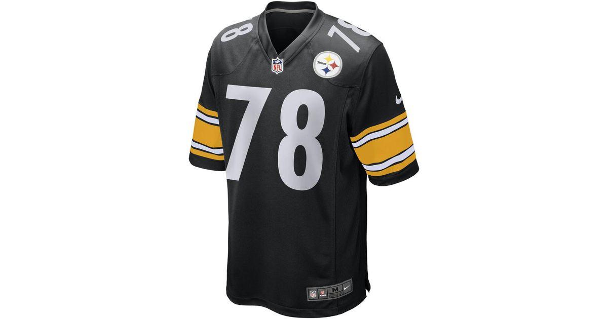 93b1fca72 Lyst - Nike Nfl Pittsburgh Steelers (alejandro Villanueva) Men's Football  Game Jersey in Black for Men