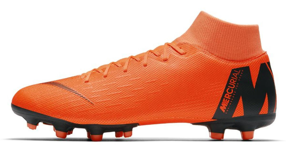 786b7019c Lyst - Nike Mercurial Superfly Vi Academy Mg Football Boots in Orange for  Men