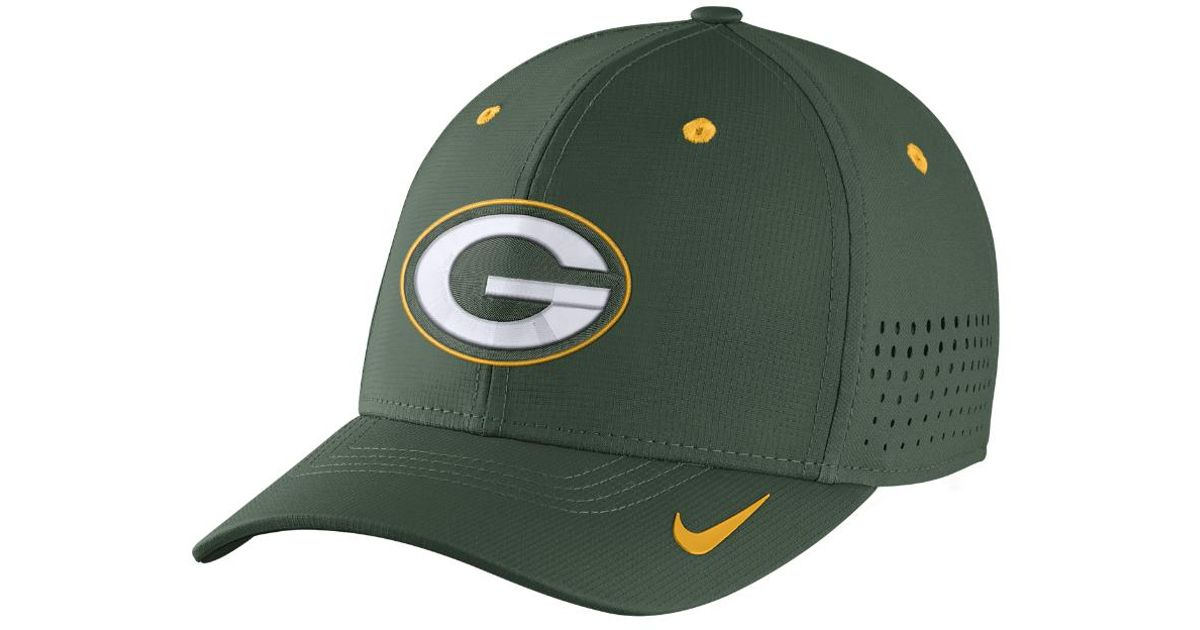 9fd349479f7 Lyst - Nike Legacy Vapor Swoosh Flex (nfl Packers) Fitted Hat in Green for  Men