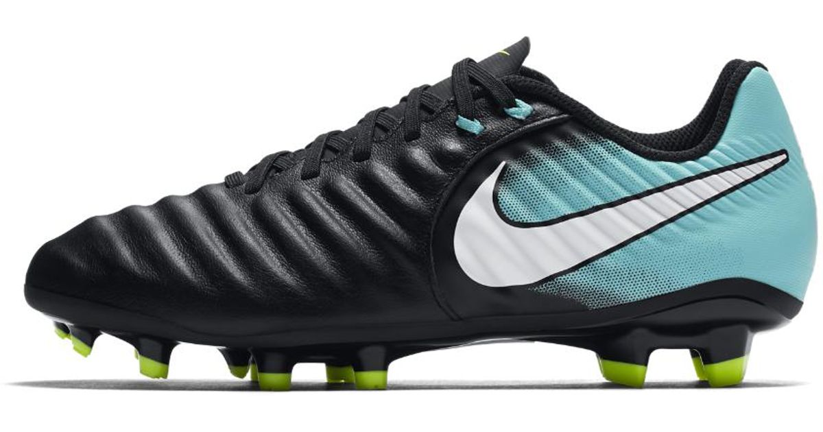5f1e039a62a78a Lyst - Nike Tiempo Ligera Iv Women s Firm-ground Soccer Cleats in Black