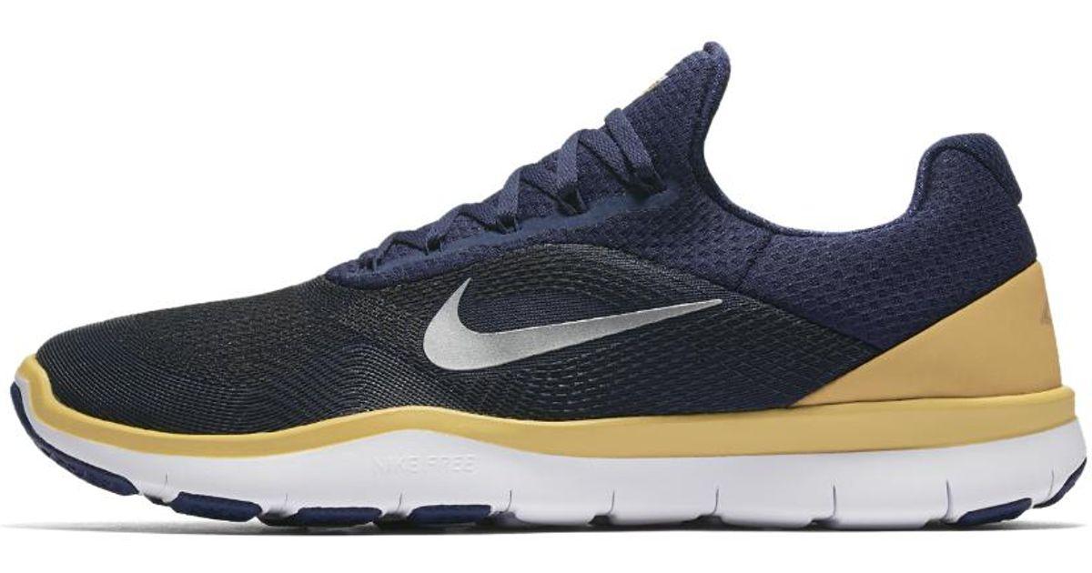 brand new e6adb d63e3 Lyst - Nike Free Trainer V7 (nfl Rams) Training Shoe in Blue for Men