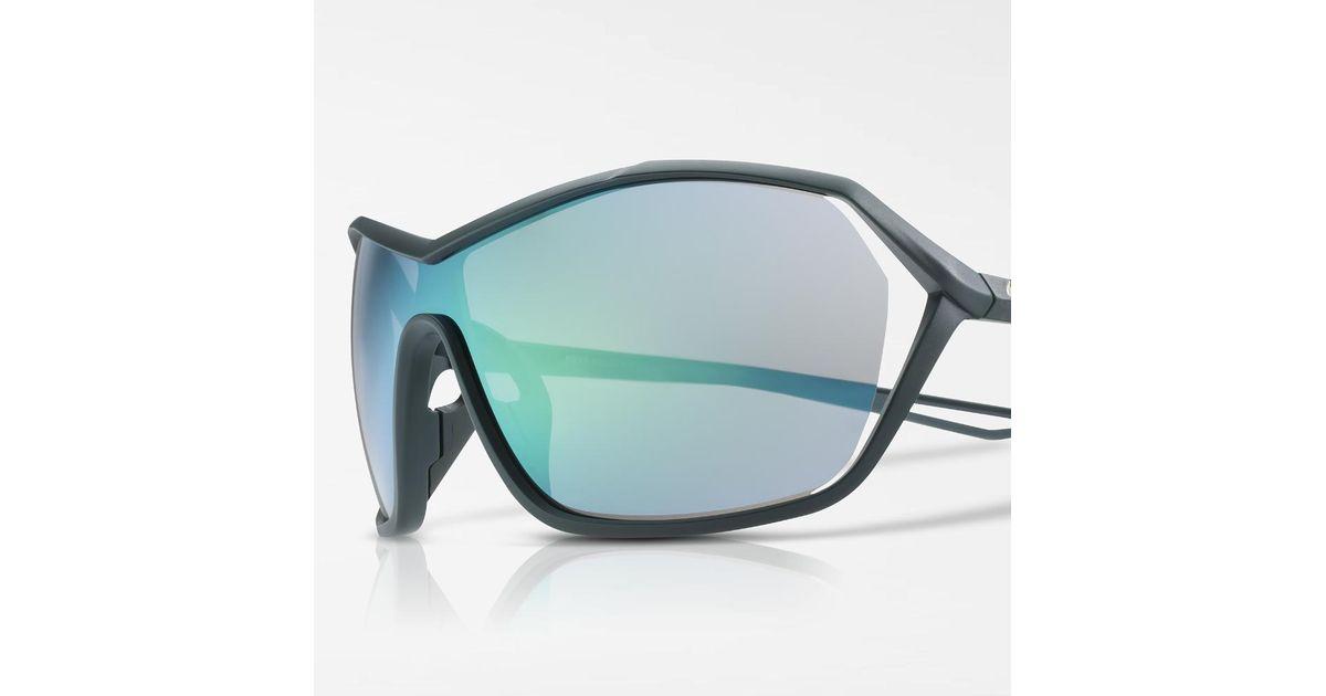 a30adbd07a Lyst - Nike Helix Elite Mirrored Sunglasses (green) in Green for Men