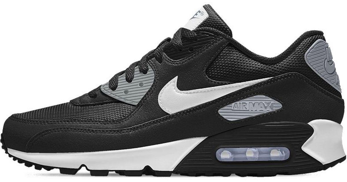 buy online f6c54 0977b Lyst - Nike Air Max 90 Essential Id Mens Shoe in Black for M