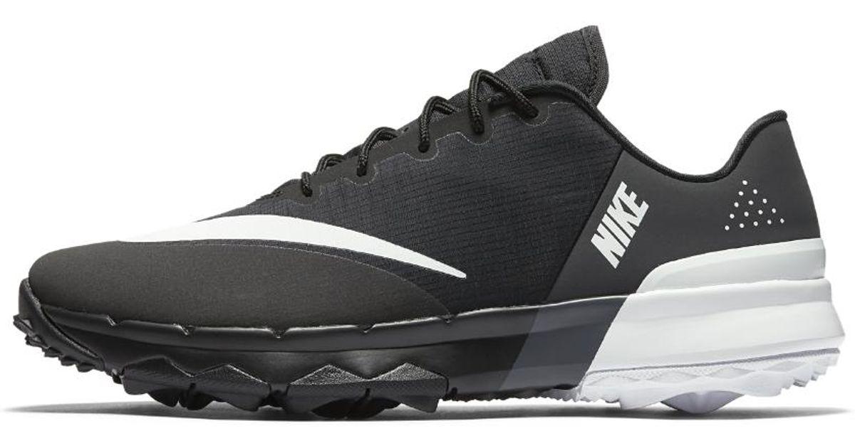 b23601c84250 Lyst - Nike Fi Flex (wide) Women s Golf Shoe in Black
