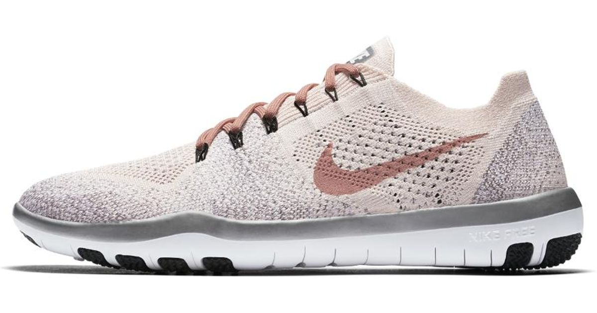 65f4e74f231 ... discount lyst nike free focus flyknit 2 sneakers in white 448b4 a069c