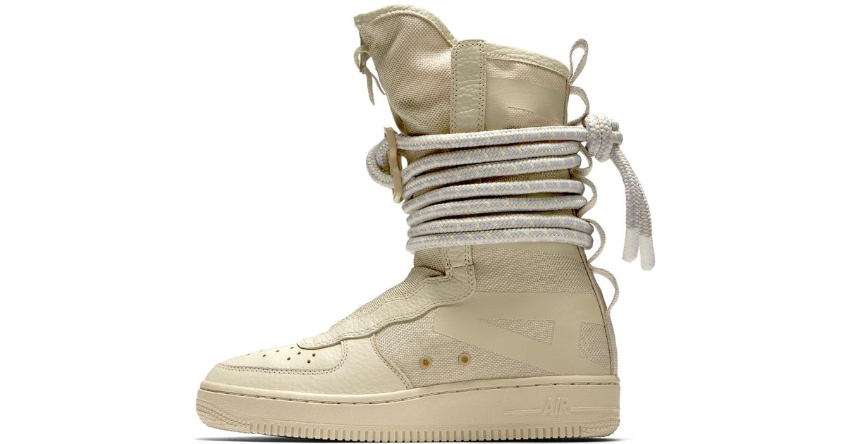 486149d07bcc Lyst - Nike Sf Air Force 1 Hi Women s Boot