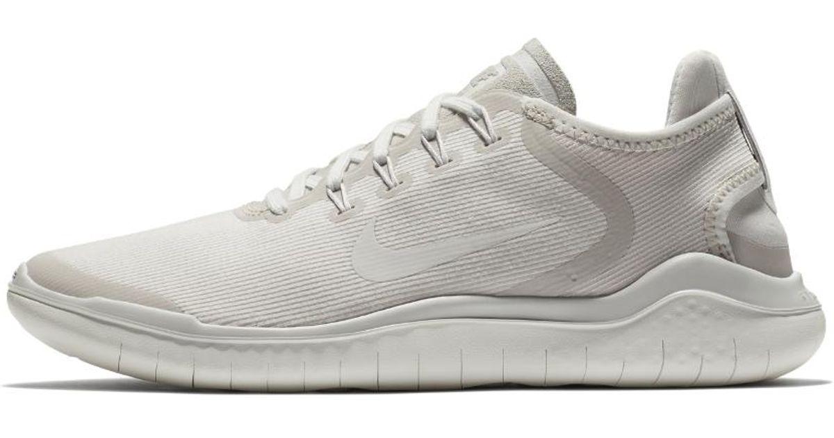 703b1209588d4 Lyst - Nike Free Rn 2018 Sun Women s Running Shoe in Gray