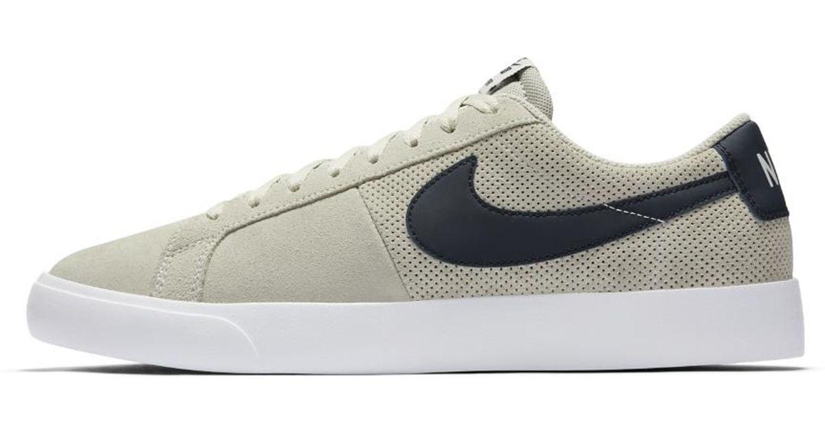 86c721636d46 Lyst - Nike Sb Blazer Vapor Men s Skateboarding Shoe in White for Men