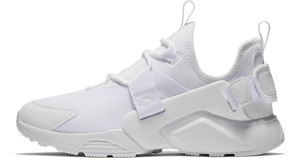 95d225ef9755f ... france lyst nike air huarache city low womens shoe in white ee88d 81f00