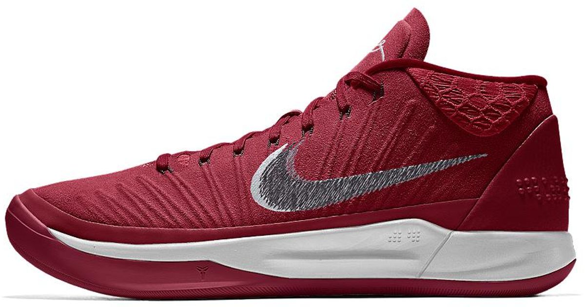 9d75edf4a19e ... best price lyst nike kobe ad id mens basketball shoe in red for men  0fe1e aedfa