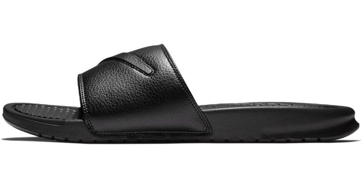 8682d2127e8f Lyst - Nike Benassi Jdi Ltd Men s Slide Sandal in Black for Men