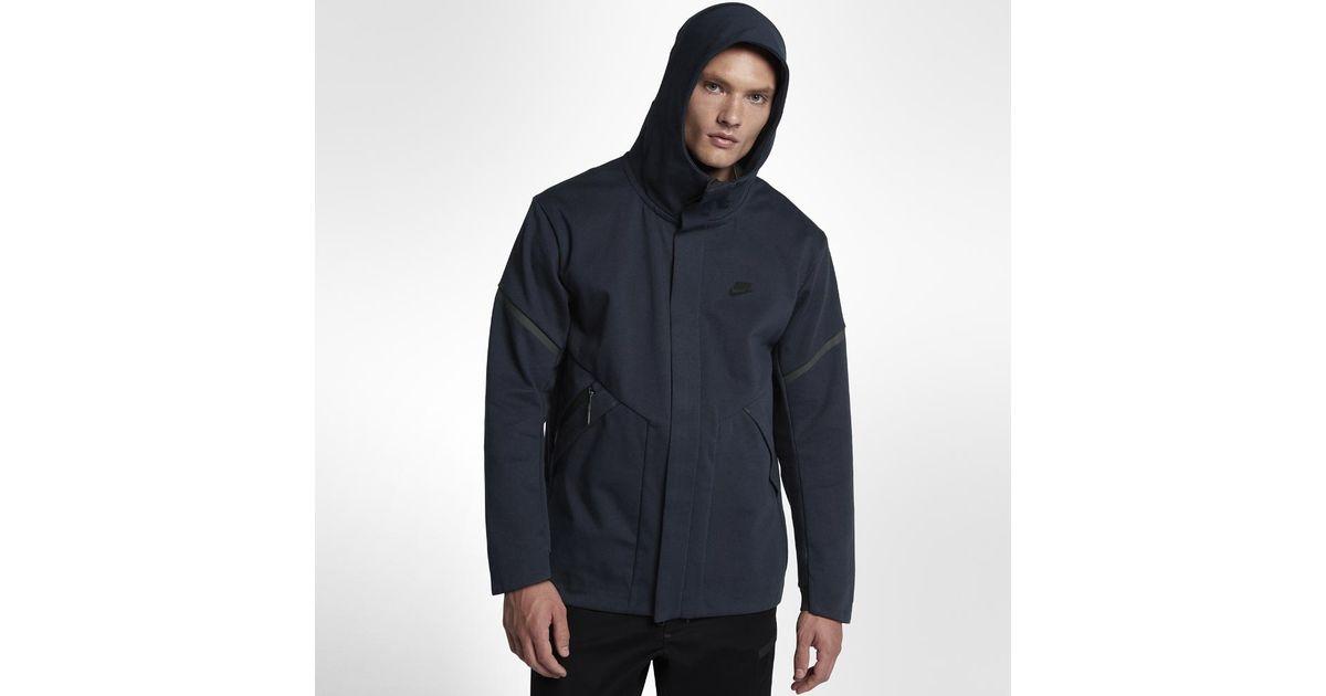 7f005d40c9cb3 Nike Sportswear Tech Fleece Repel Windrunner Men's Jacket in Blue for Men -  Lyst