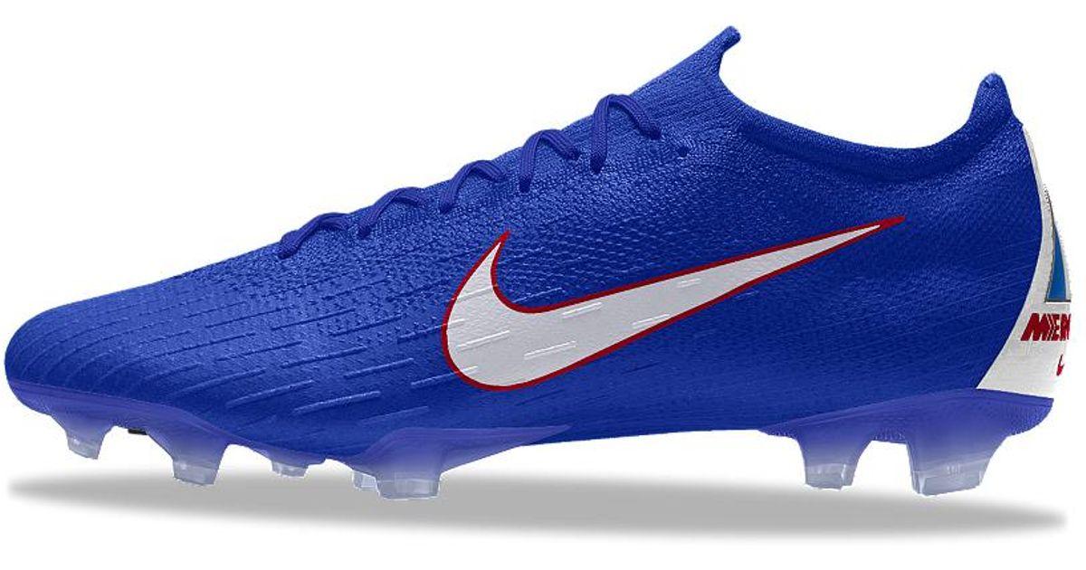 78c5854b1 Nike Mercurial Vapor 360 Elite Fg Id Firm-ground Soccer Cleats in Blue for  Men - Lyst