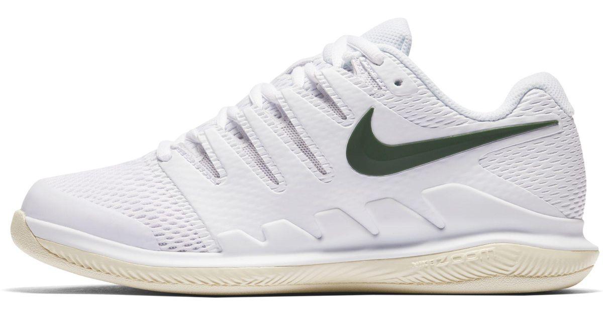 71c753c581847 Nike Air Zoom Vapor X Hc Women s Tennis Shoe in White - Lyst
