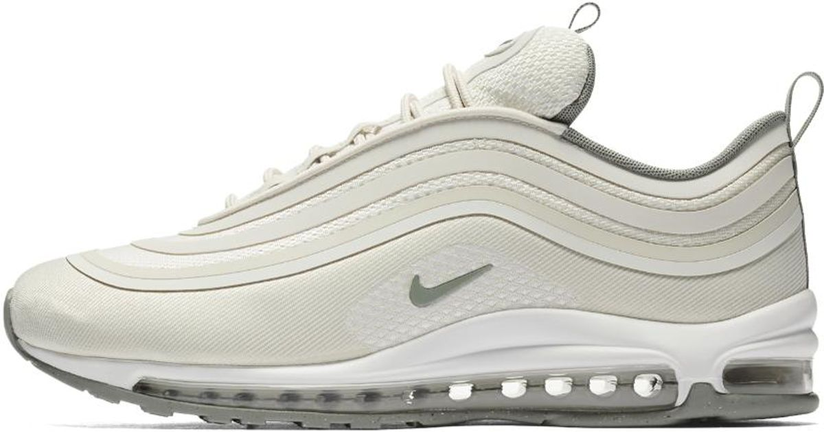 fdc71817a09b5e ... wholesale lyst nike air max 97 ultra 17 mens shoe in white for men  4572b 52f6a