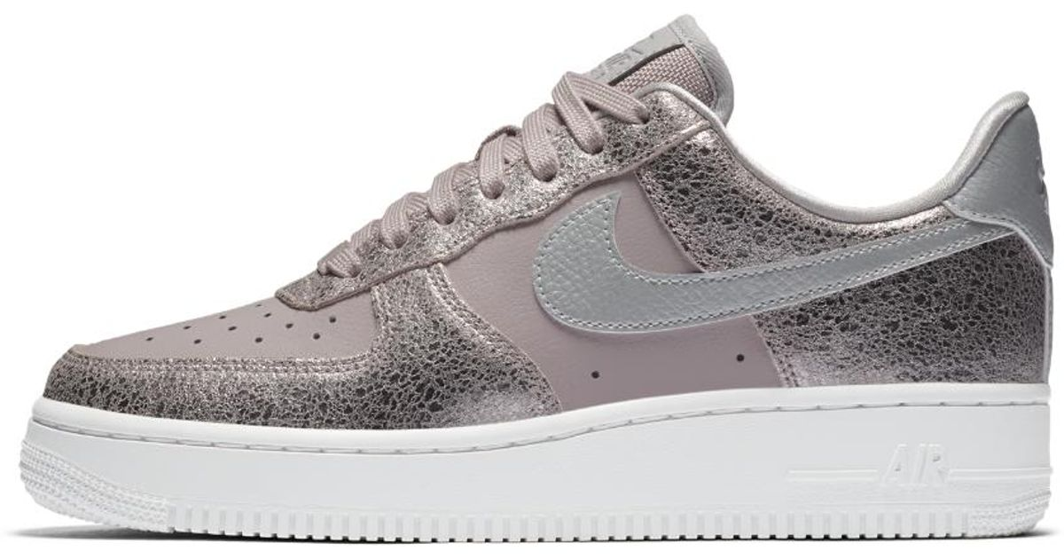 outlet store 832c0 6bdba Nike Air Force 1 07 Premium Women s Shoe - Lyst