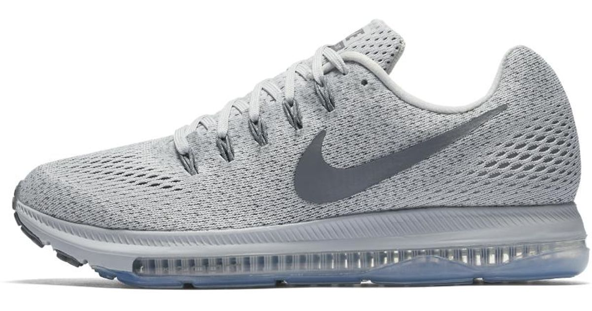 wholesale dealer 82f46 8c64b ... discount code for nike zoom all out low womens running shoe in gray  lyst 518b1 3c627