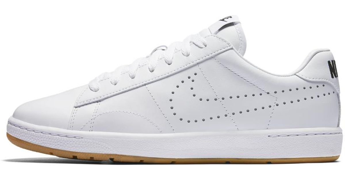 huge discount 372e0 b1915 Lyst - Nike Tennis Classic Ultra Leather Womens Shoe in Whit