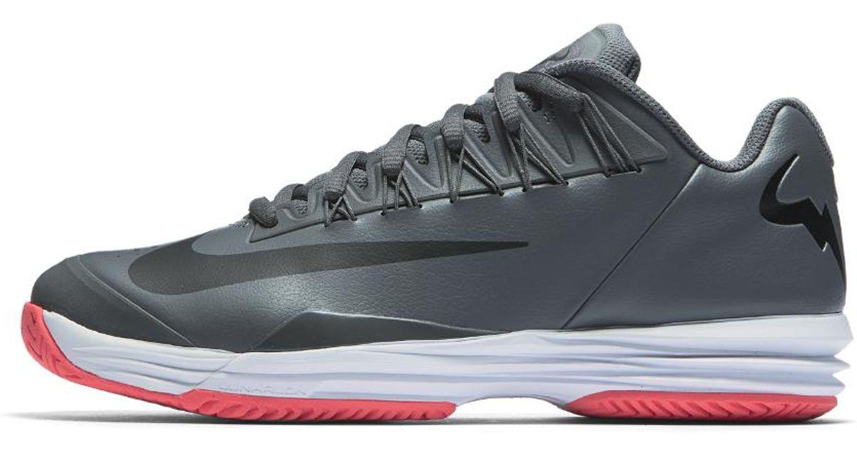 55ca2e2f2a nike-dark-greysolar-redwhiteblack-court-lunar-ballistec-15-legend-mens-tennis-shoe.jpeg