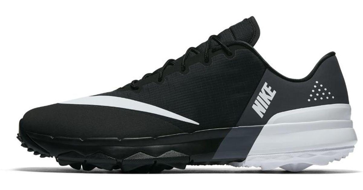 9721f846096cb Lyst - Nike Fi Flex Men s Golf Shoe in Black for Men