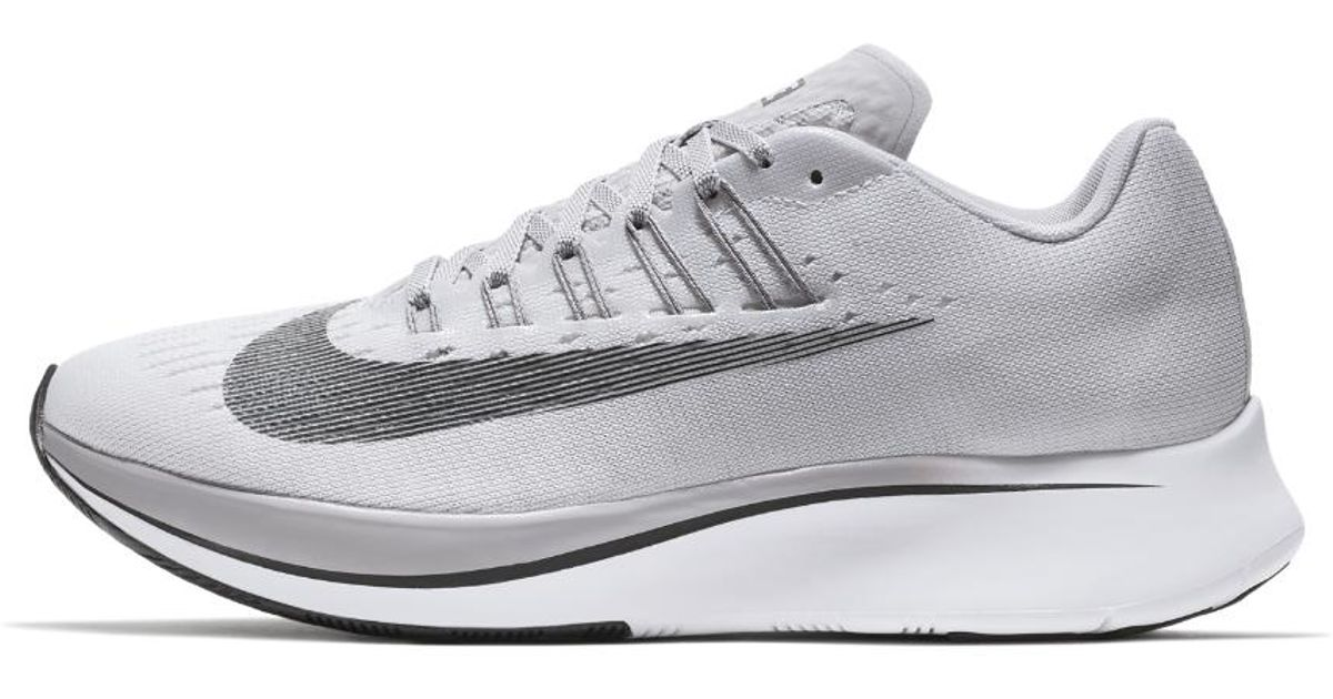 2c994fea1f429 Lyst - Nike Zoom Fly Women s Running Shoe in Gray