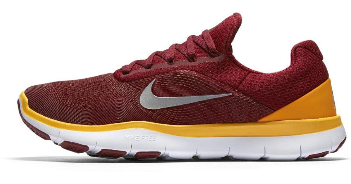 afc2ba1aff957 ... Lyst - Nike Free Trainer V7 (nfl Redskins) Training Shoe in Red for Men  .