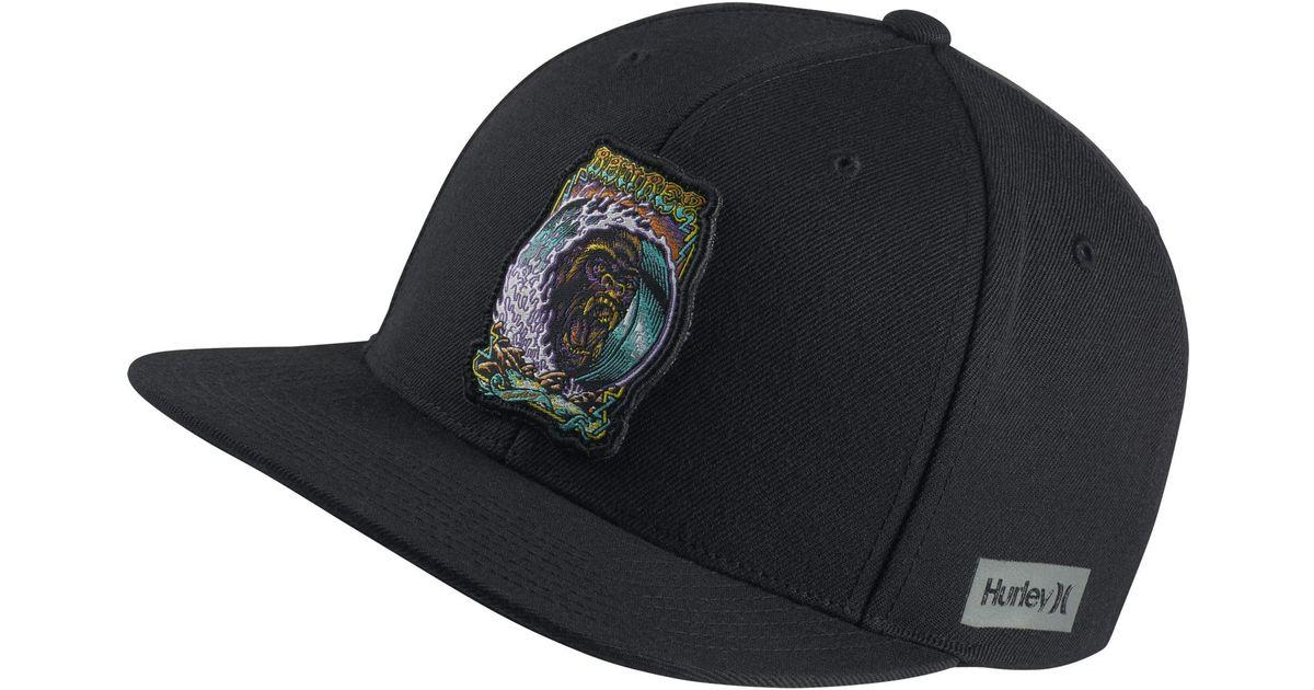 da5e47339282c ... coupon nike hurley team bourez hat in black for men lyst 91356 88860 ...