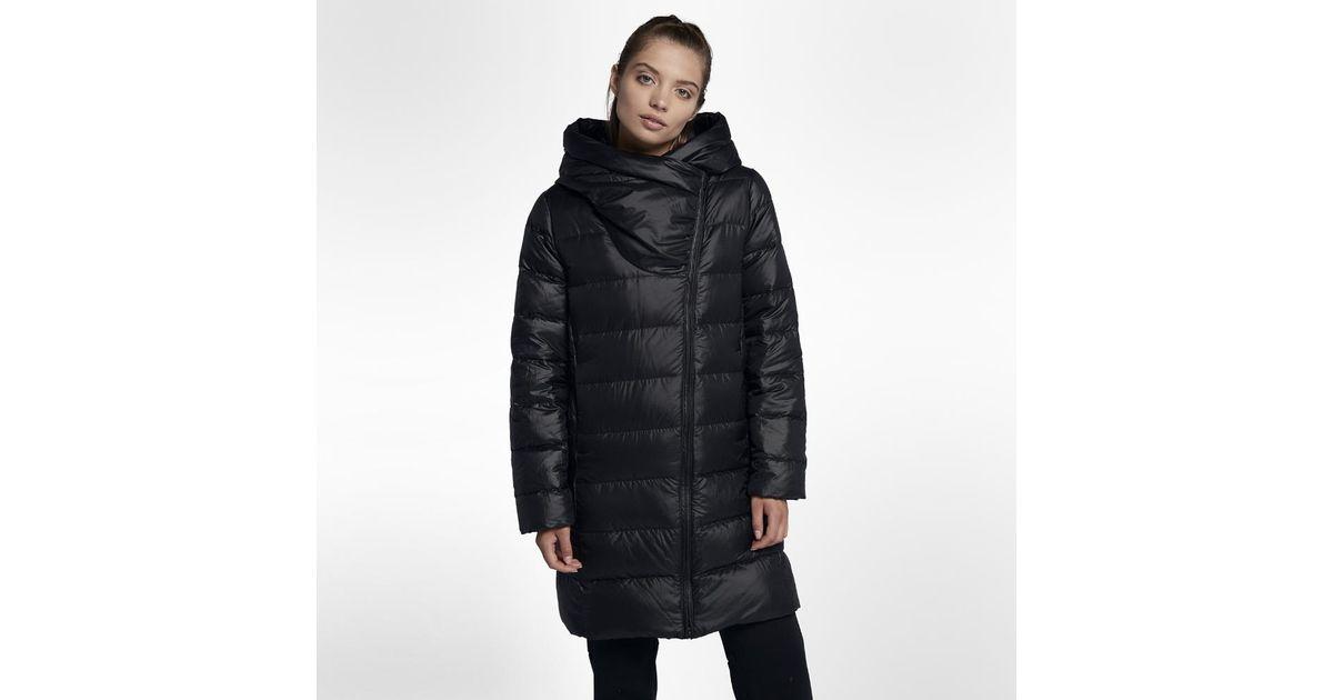 d92e19c74009 Lyst - Nike Sportswear Women s Parka in Black