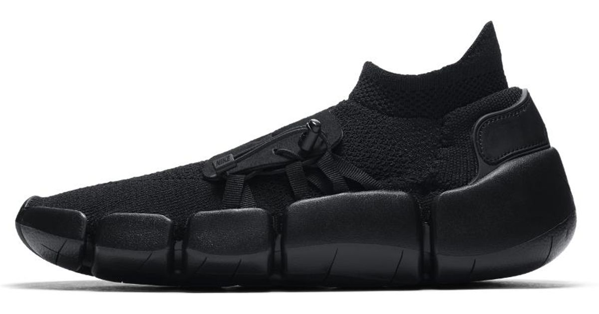new product f7aa8 a8cae Nike Footscape Flyknit Dm Men's Shoe in Black for Men - Lyst