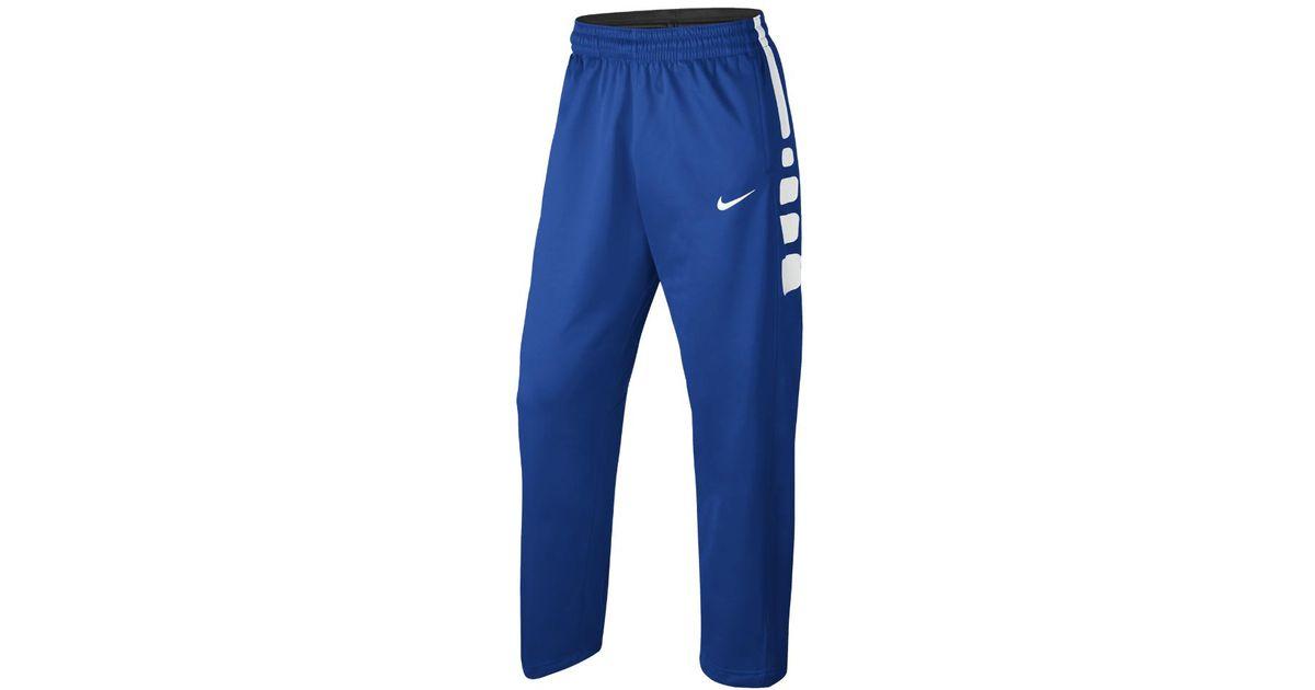 Lyst - Nike Therma Elite Men s Basketball Pants in Blue for Men ba04c2e74ffe