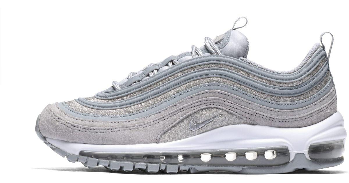 881f654f025e Nike Air Max 97 Glitter Shoe in Gray - Lyst