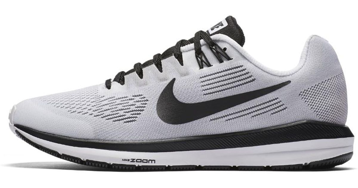 300049a0ff499 Lyst - Nike Air Zoom Structure 21 Le Women s Running Shoe in White